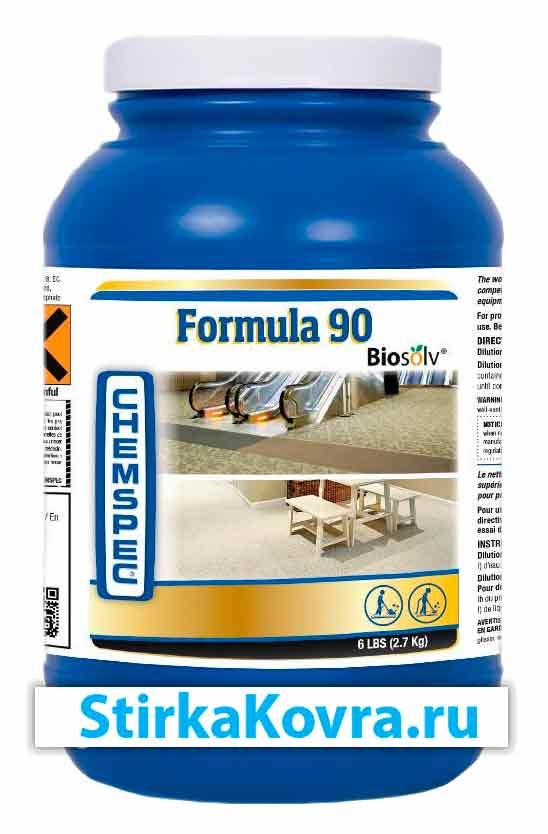 Средство для чистки мебели и ковров Формула 90