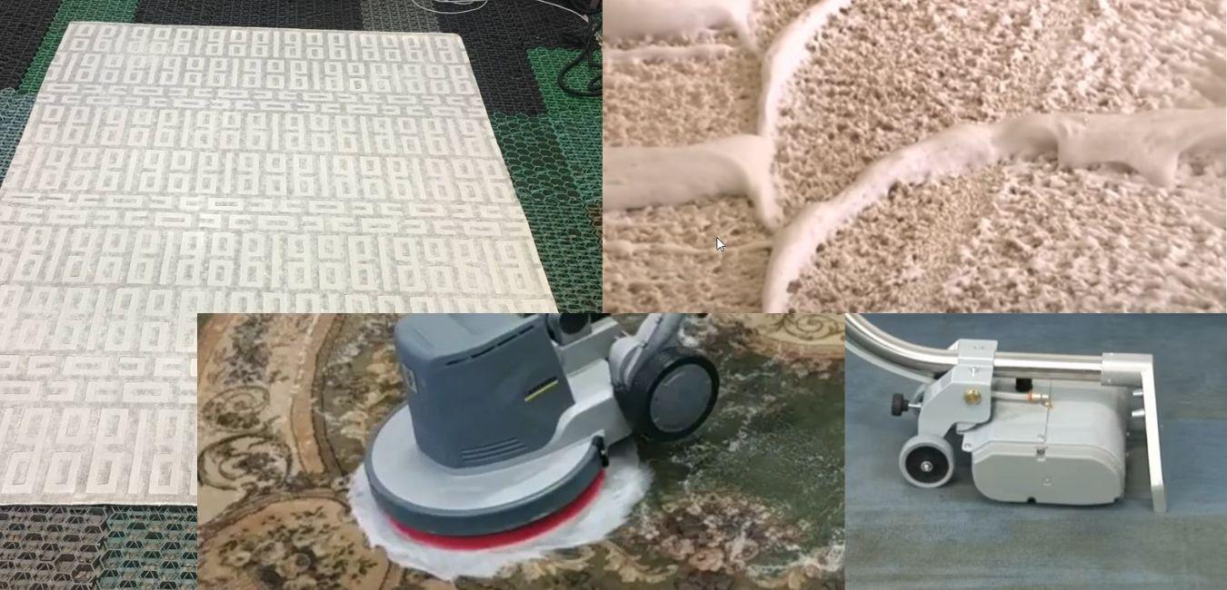 чистка ковров москва