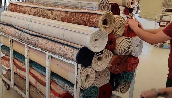 химчистка ковров с забором и доставкой